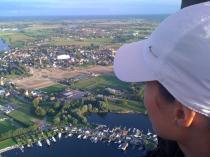 Uitzicht vanuit de ballon