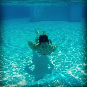 GoPro getest in het zwembad