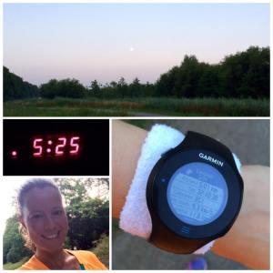 Earybird rondje hardlopen, ochtendrun