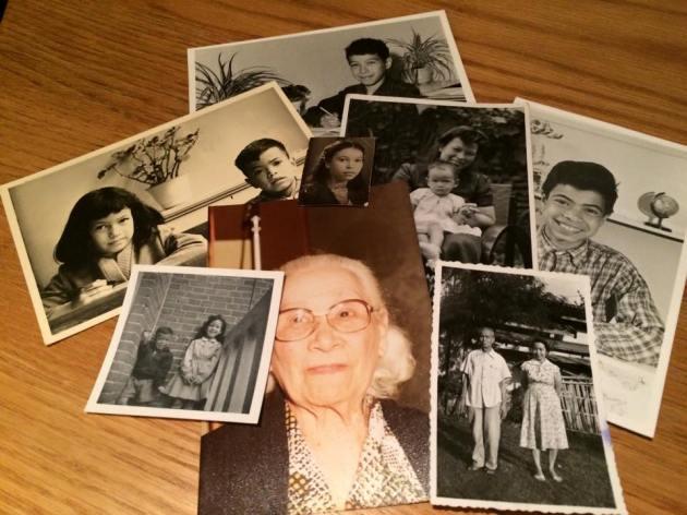 Foto Hamar, familie Hamar, opa en oma