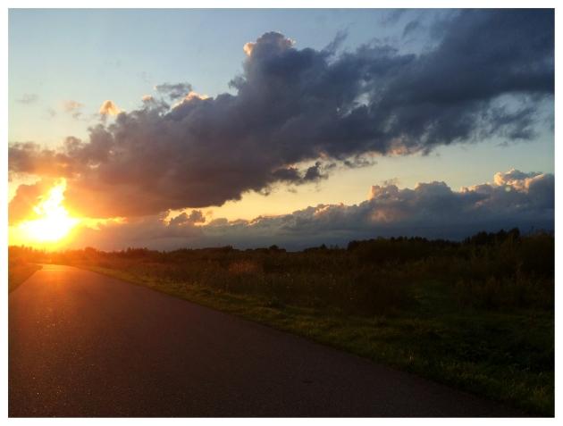 Afscheid, de weg, hemel, dood
