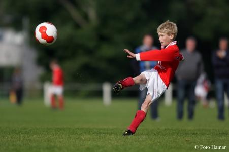 Voetbal, Foto Hamar, sportfotografie, 's-Gravendeel