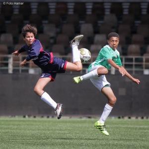 FC Dordrecht, Voetbal, Foto Hamar, Actie