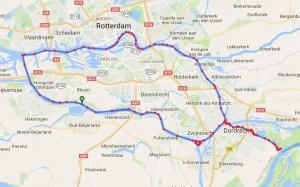 Varen met Merlin en Foto Hamar, langs Rotterdam en havens