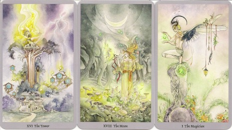 tarotkaarten van het Shadowscapes deck