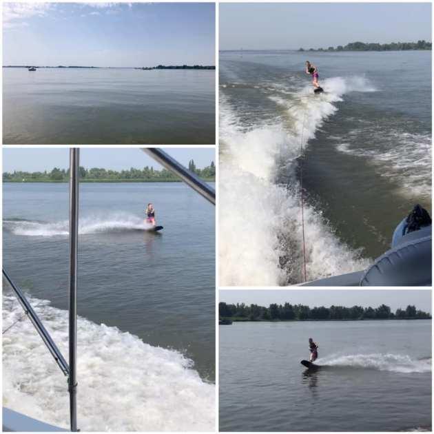 wakeboarden op de maas