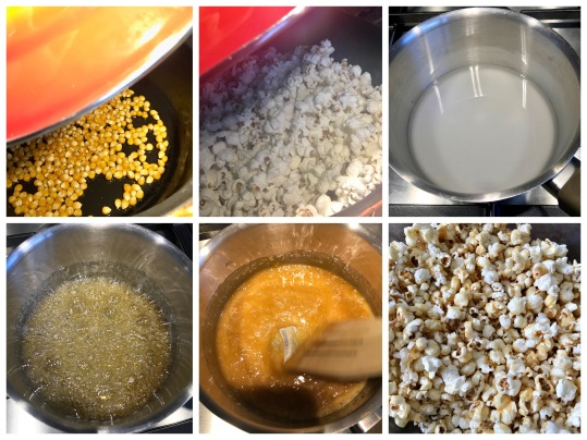 van popcorn mais tot karamelpopcorn
