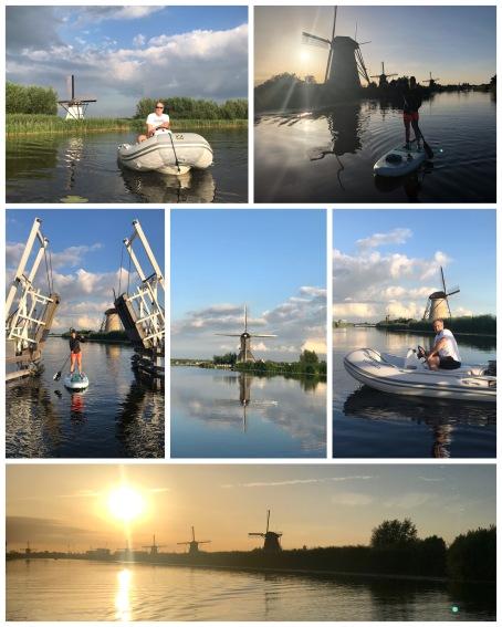SUPPEN langs de molens van Kinderdijk
